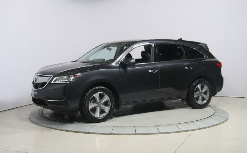 2016 Acura MDX SH-AWD A/C CUIR TOIT MAGS BLUETOOTH 7PASSAGERS #2