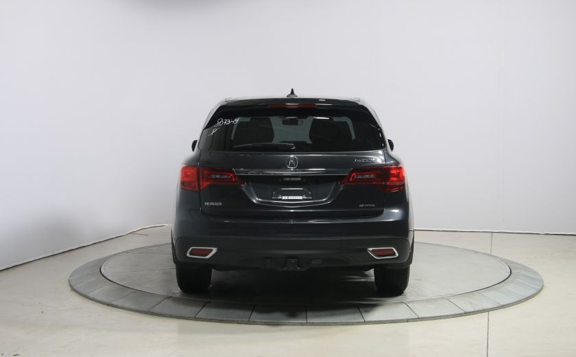 2016 Acura MDX SH-AWD A/C CUIR TOIT MAGS BLUETOOTH 7PASSAGERS #5