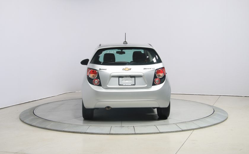 2015 Chevrolet Sonic LT AUTO A/C GR ELECT MAGS BLUETOOTH CAM.RECUL #5