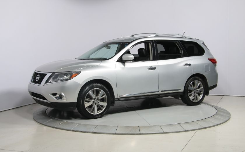 2014 Nissan Pathfinder PLATINUM 4WD CUIR NAVIGATION CAMERA 360 #2
