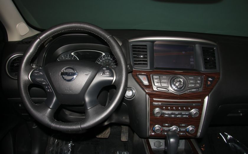 2014 Nissan Pathfinder PLATINUM 4WD CUIR NAVIGATION CAMERA 360 #13