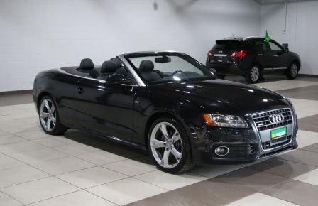 2012 Audi A5 2.0L Premium AWD AUTO A/C CONVERTIBLE MAGS #0