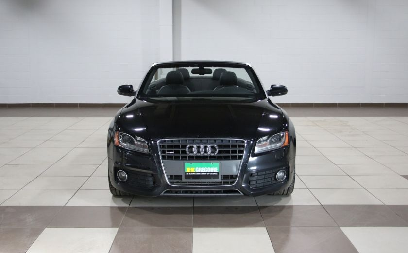 2012 Audi A5 2.0L Premium AWD AUTO A/C CONVERTIBLE MAGS #1
