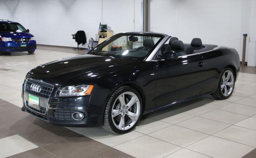 2012 Audi A5 2.0L Premium AWD AUTO A/C CONVERTIBLE MAGS #2