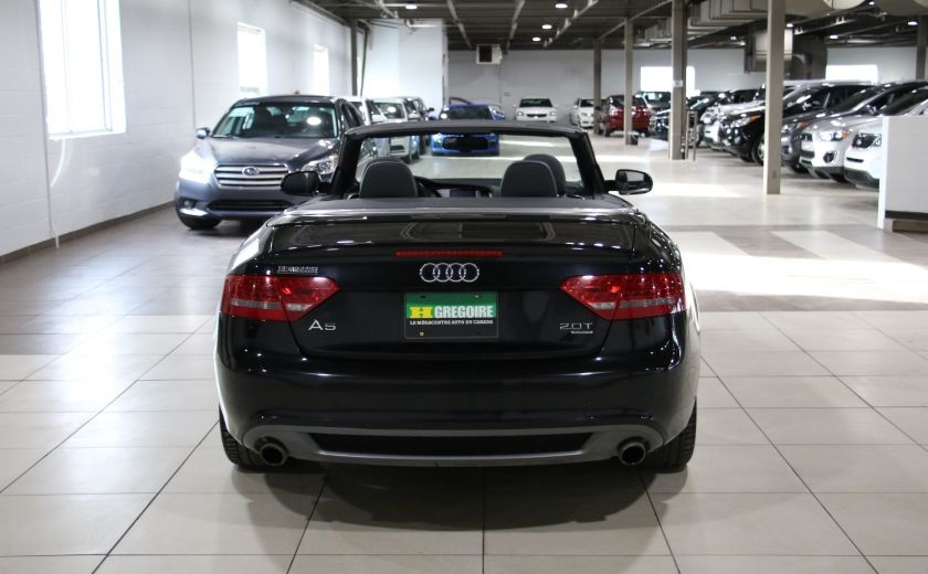 2012 Audi A5 2.0L Premium AWD AUTO A/C CONVERTIBLE MAGS #5