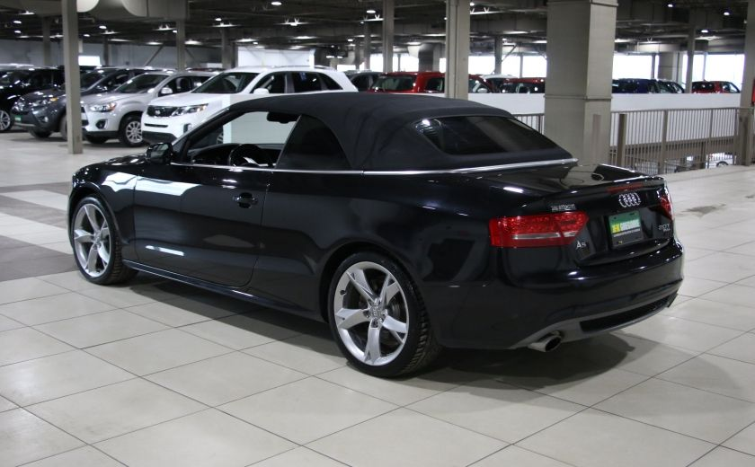 2012 Audi A5 2.0L Premium AWD AUTO A/C CONVERTIBLE MAGS #10