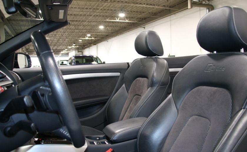 2012 Audi A5 2.0L Premium AWD AUTO A/C CONVERTIBLE MAGS #14