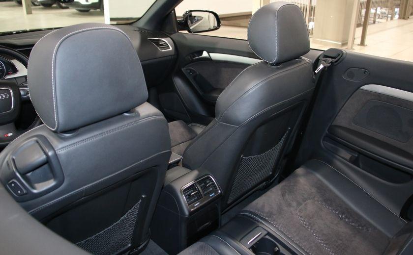 2012 Audi A5 2.0L Premium AWD AUTO A/C CONVERTIBLE MAGS #21