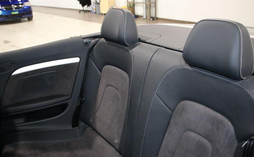2012 Audi A5 2.0L Premium AWD AUTO A/C CONVERTIBLE MAGS #22