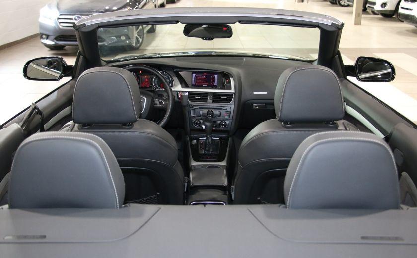 2012 Audi A5 2.0L Premium AWD AUTO A/C CONVERTIBLE MAGS #23