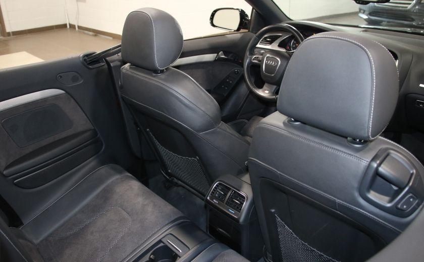 2012 Audi A5 2.0L Premium AWD AUTO A/C CONVERTIBLE MAGS #24