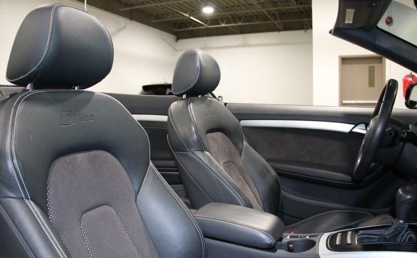 2012 Audi A5 2.0L Premium AWD AUTO A/C CONVERTIBLE MAGS #28
