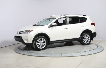 2013 Toyota Rav 4 Limited AWD A/C CUIR TOIT MAGS HAYON ELECTRIQUE #0
