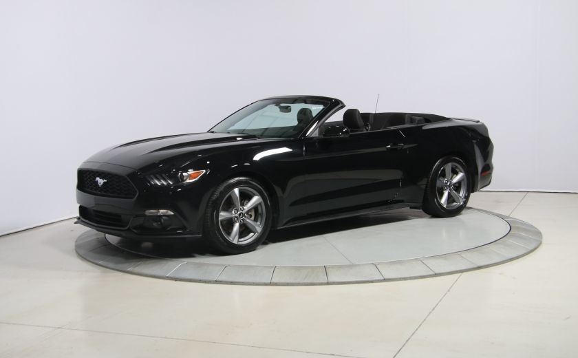 2016 Ford Mustang V6 AUTO A/C CONVERTIBLE MAGS BLUETOOTH #2