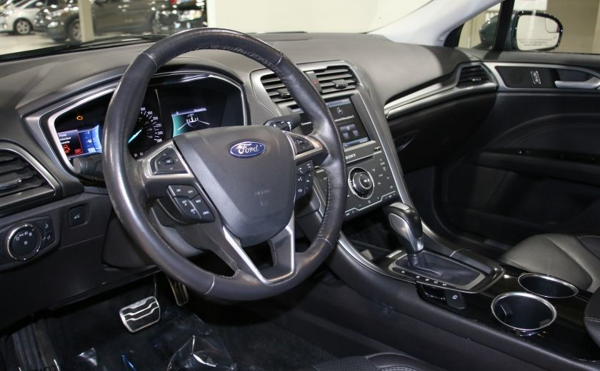2013 Ford Fusion TITANIUM AWD CUIR TOIT NAVIGATION CAMERA RECUL #7