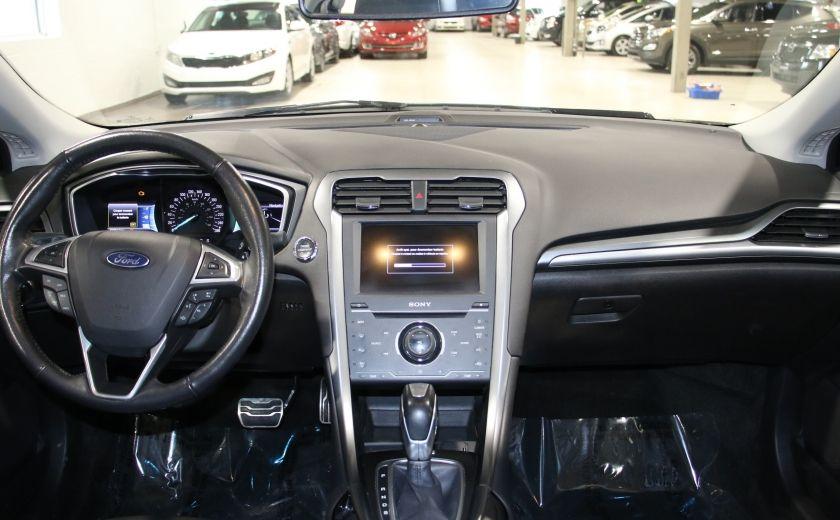 2013 Ford Fusion TITANIUM AWD CUIR TOIT NAVIGATION CAMERA RECUL #12