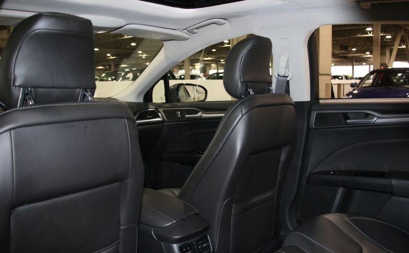 2013 Ford Fusion TITANIUM AWD CUIR TOIT NAVIGATION CAMERA RECUL #21