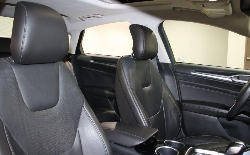 2013 Ford Fusion TITANIUM AWD CUIR TOIT NAVIGATION CAMERA RECUL #27