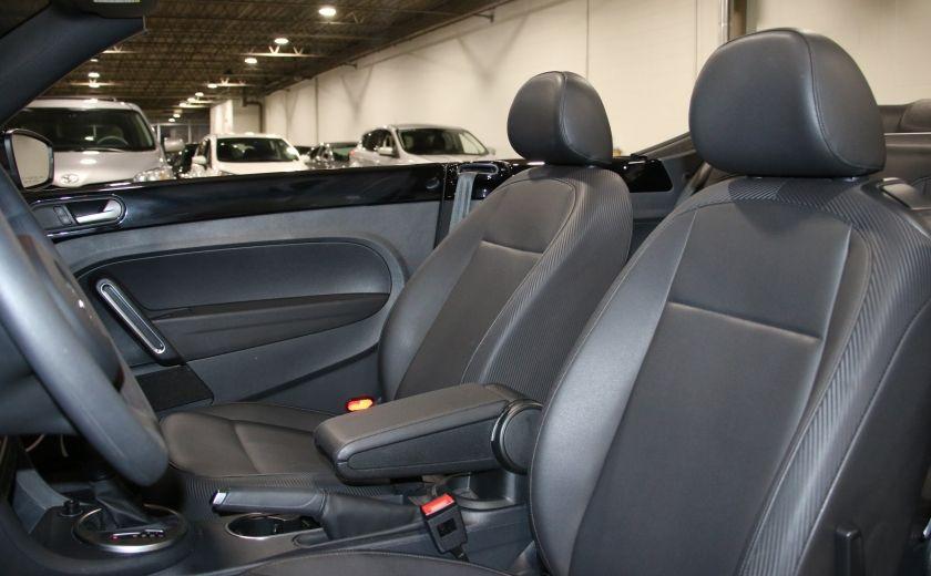 2015 Volkswagen BEETLE Trendline+ AUTO A/C CUIR CONVERTIBLE MAGS #13