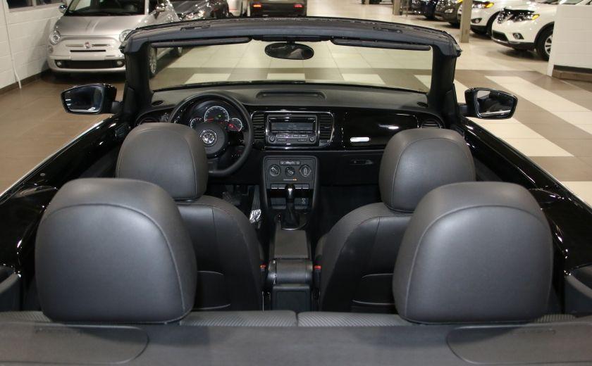 2015 Volkswagen BEETLE Trendline+ AUTO A/C CUIR CONVERTIBLE MAGS #19