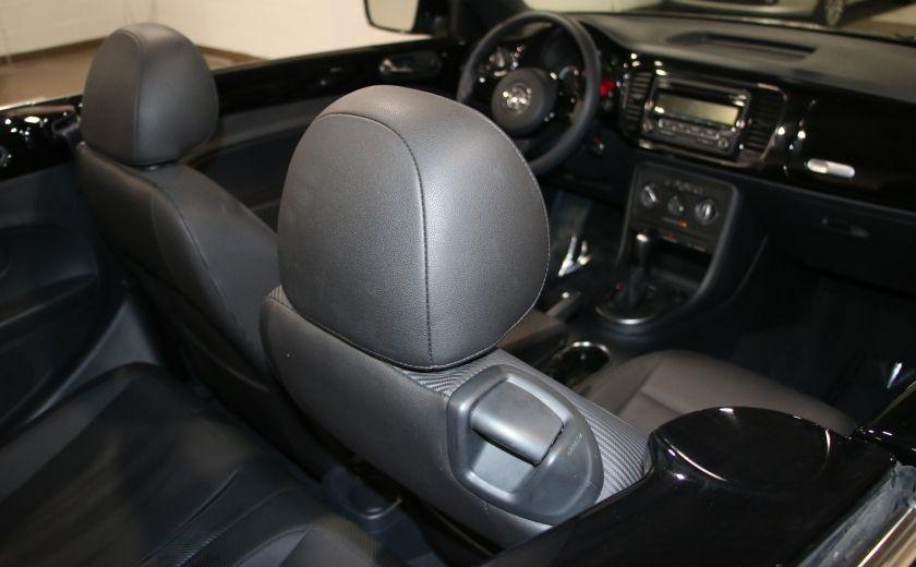 2015 Volkswagen BEETLE Trendline+ AUTO A/C CUIR CONVERTIBLE MAGS #20