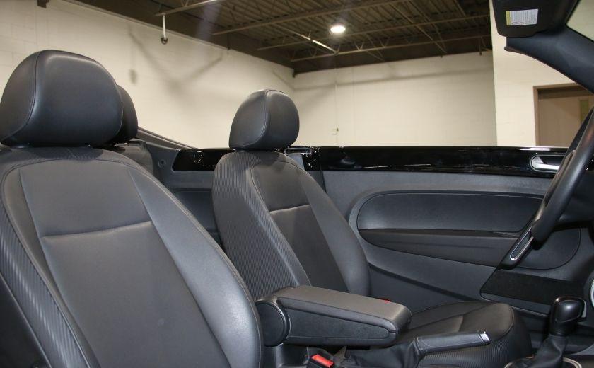 2015 Volkswagen BEETLE Trendline+ AUTO A/C CUIR CONVERTIBLE MAGS #24
