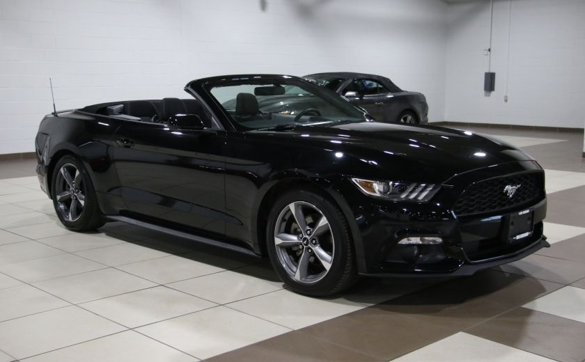 2016 Ford Mustang V6 CONVERTIBLE AUTO A/C MAGS CAMERA RECUL #0