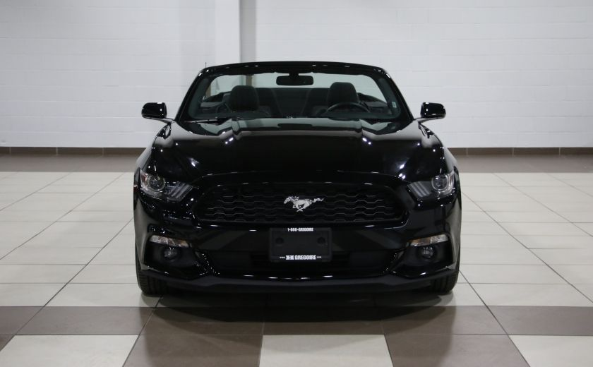 2016 Ford Mustang V6 CONVERTIBLE AUTO A/C MAGS CAMERA RECUL #1