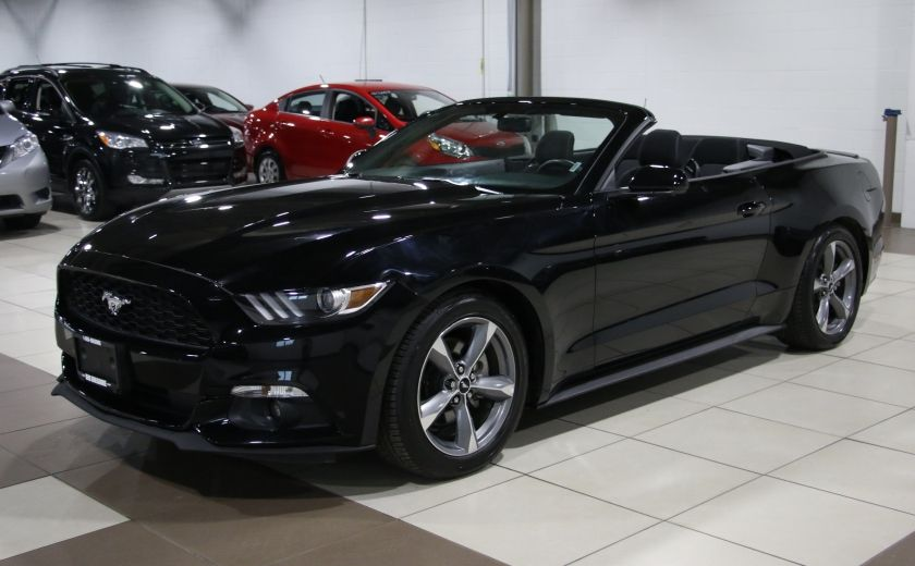 2016 Ford Mustang V6 CONVERTIBLE AUTO A/C MAGS CAMERA RECUL #2