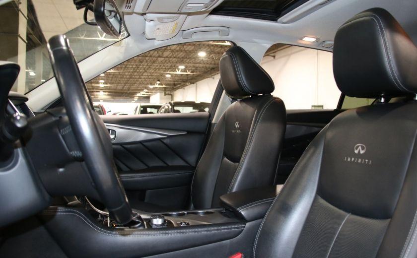 2014 Infiniti Q50 Premium AWD AUTO A/C CUIR TOIT MAGS CAMERA RECUL #9