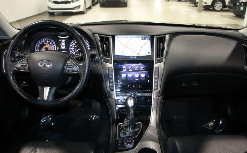 2014 Infiniti Q50 Premium AWD AUTO A/C CUIR TOIT MAGS CAMERA RECUL #13