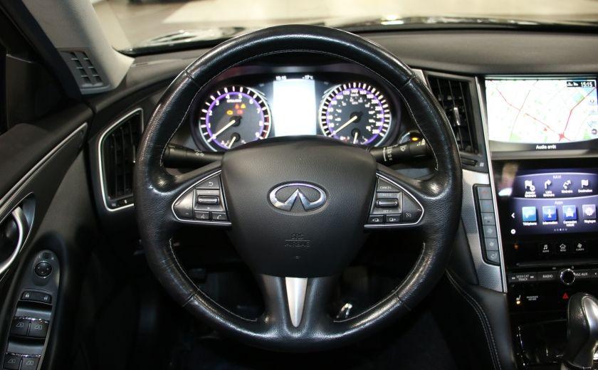 2014 Infiniti Q50 Premium AWD AUTO A/C CUIR TOIT MAGS CAMERA RECUL #15