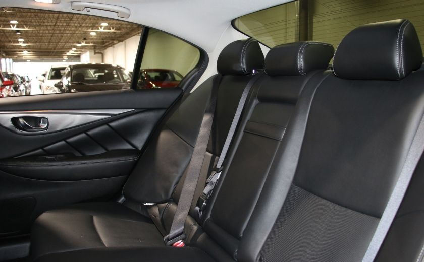 2014 Infiniti Q50 Premium AWD AUTO A/C CUIR TOIT MAGS CAMERA RECUL #25