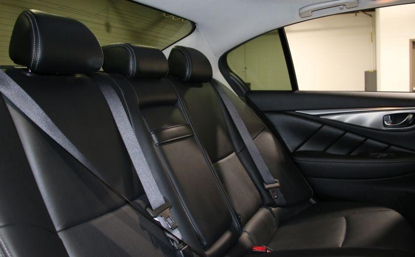 2014 Infiniti Q50 Premium AWD AUTO A/C CUIR TOIT MAGS CAMERA RECUL #27