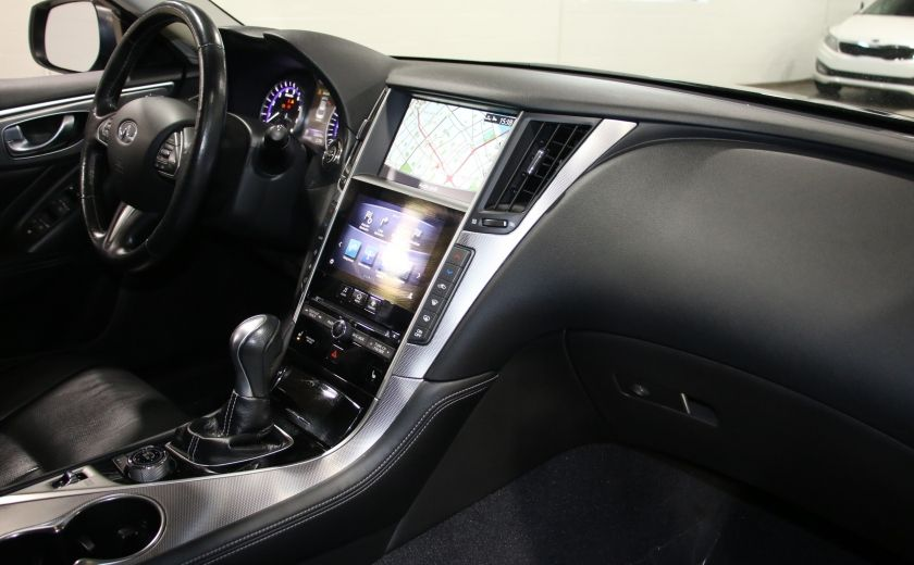 2014 Infiniti Q50 Premium AWD AUTO A/C CUIR TOIT MAGS CAMERA RECUL #28