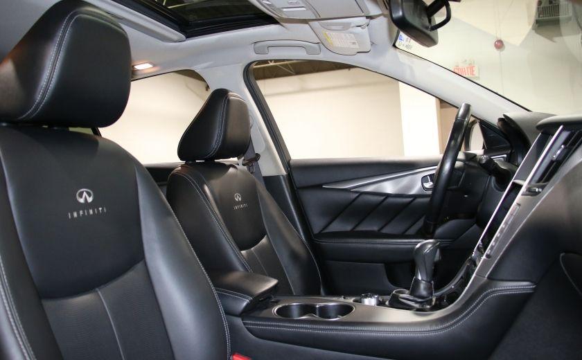 2014 Infiniti Q50 Premium AWD AUTO A/C CUIR TOIT MAGS CAMERA RECUL #30
