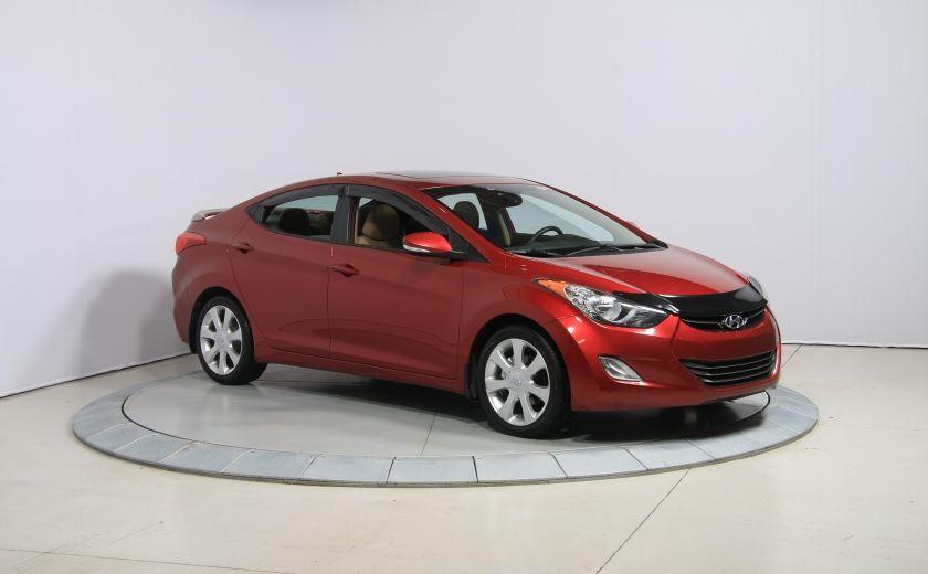 2012 Hyundai Elantra Limited AUTO A/C CUIR TOIT MAGS BLUETOOTH #0