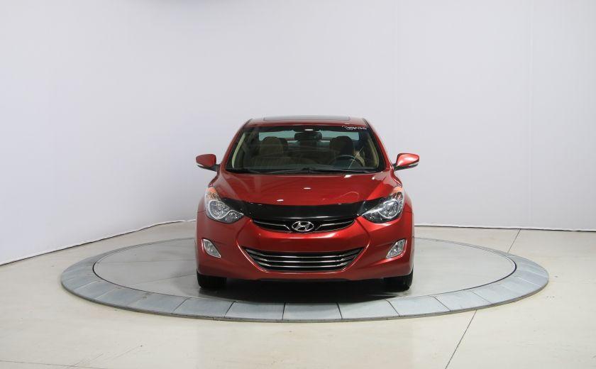 2012 Hyundai Elantra Limited AUTO A/C CUIR TOIT MAGS BLUETOOTH #1