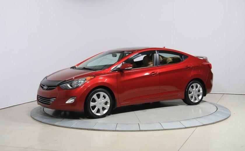 2012 Hyundai Elantra Limited AUTO A/C CUIR TOIT MAGS BLUETOOTH #2