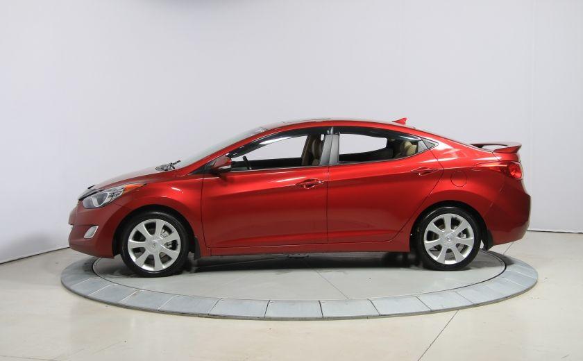 2012 Hyundai Elantra Limited AUTO A/C CUIR TOIT MAGS BLUETOOTH #3
