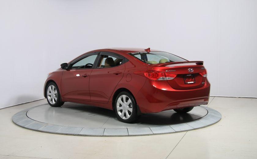 2012 Hyundai Elantra Limited AUTO A/C CUIR TOIT MAGS BLUETOOTH #4