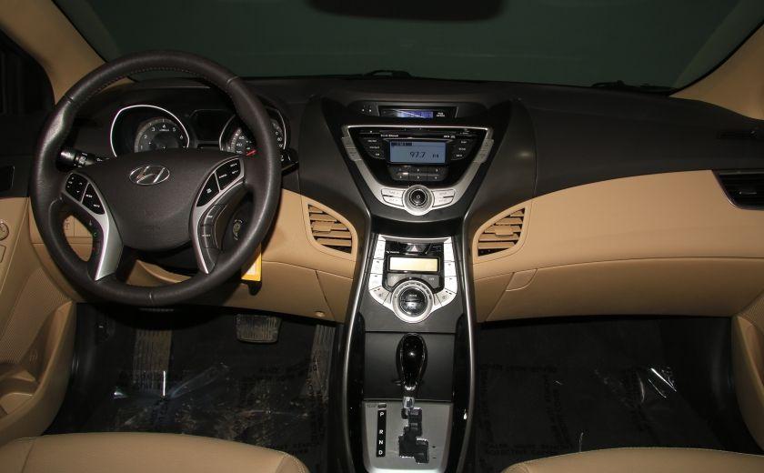 2012 Hyundai Elantra Limited AUTO A/C CUIR TOIT MAGS BLUETOOTH #9