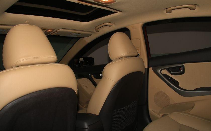2012 Hyundai Elantra Limited AUTO A/C CUIR TOIT MAGS BLUETOOTH #16