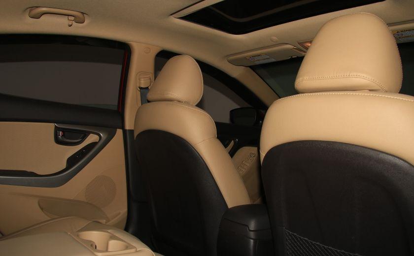 2012 Hyundai Elantra Limited AUTO A/C CUIR TOIT MAGS BLUETOOTH #18