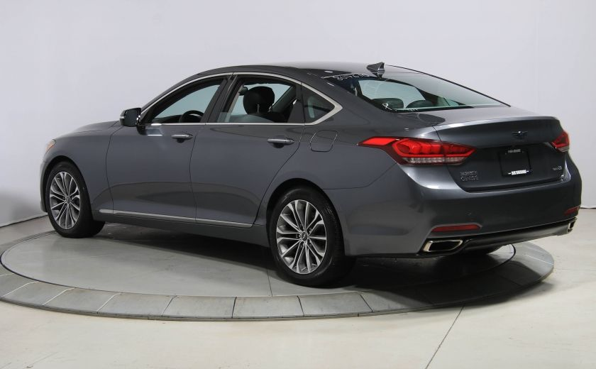 2015 Hyundai Genesis Premium AWD CUIR NAVIGATION CAMERA RECUL #3