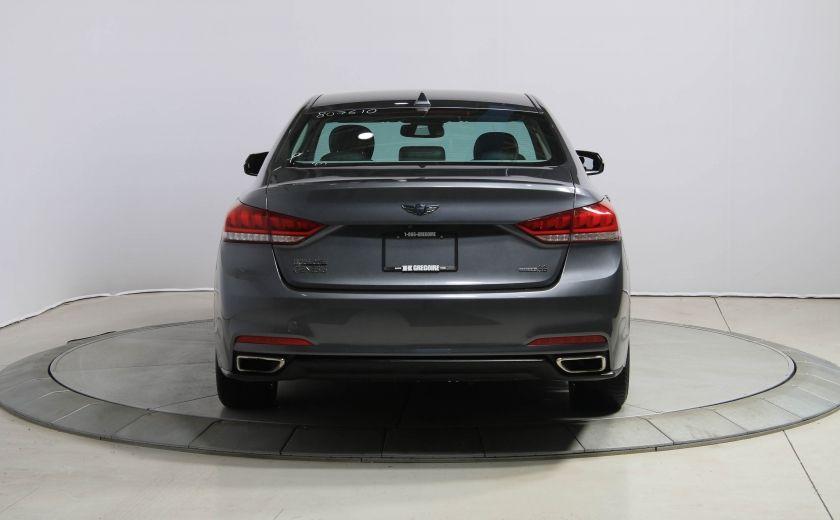 2015 Hyundai Genesis Premium AWD CUIR NAVIGATION CAMERA RECUL #4