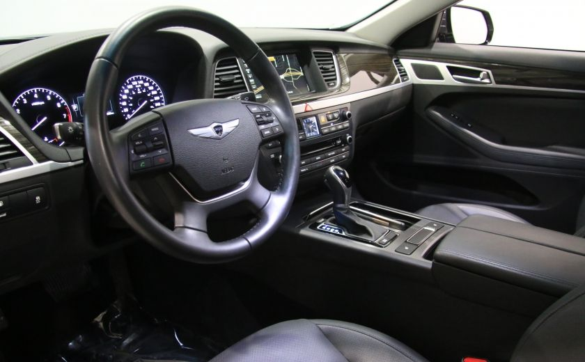 2015 Hyundai Genesis Premium AWD CUIR NAVIGATION CAMERA RECUL #6