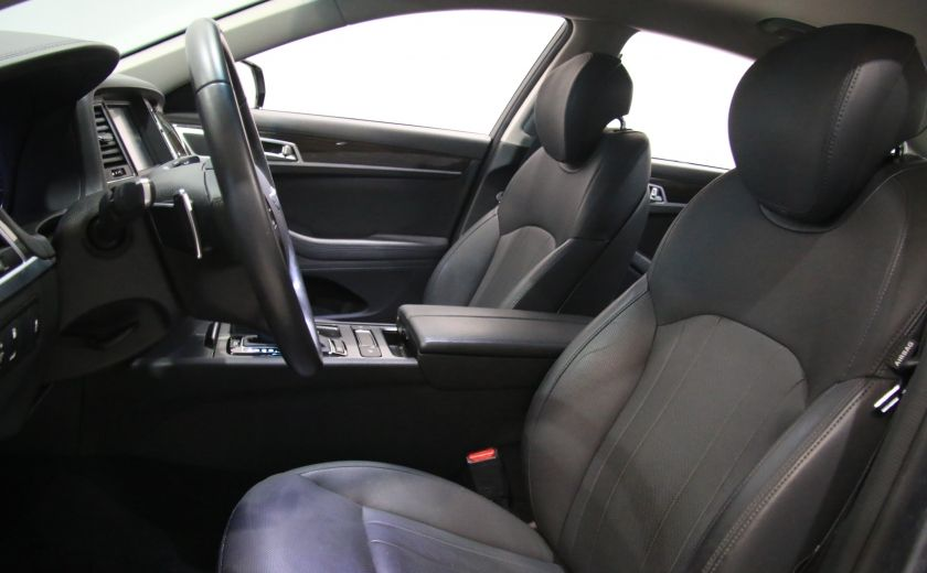 2015 Hyundai Genesis Premium AWD CUIR NAVIGATION CAMERA RECUL #7