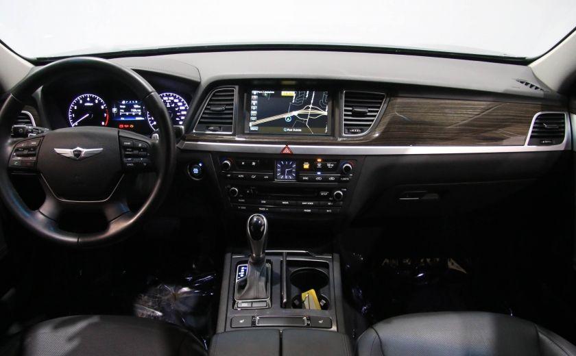 2015 Hyundai Genesis Premium AWD CUIR NAVIGATION CAMERA RECUL #10