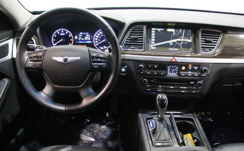 2015 Hyundai Genesis Premium AWD CUIR NAVIGATION CAMERA RECUL #11